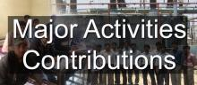Major Activities/Contributions